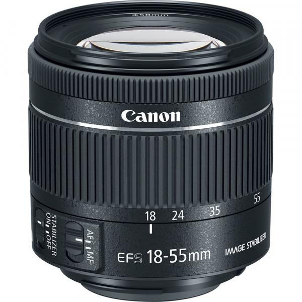 Lente Canon EF-S 18-55mm f4-5.6 IS STM-1