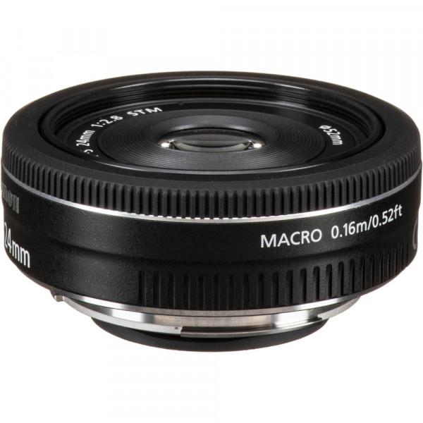 Lente Canon EF-S 24mm f2.8 STM-1