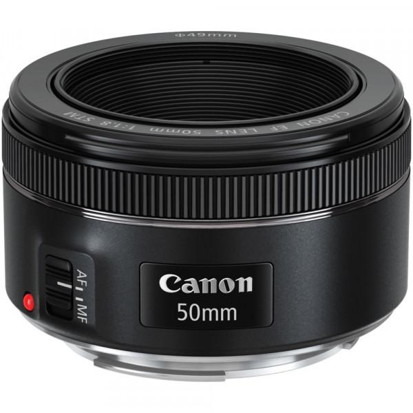 Lente Canon EF 50mm f1.8 STM-1