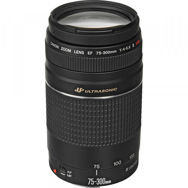 Lente Canon EF 75-300mm f4-5.6 III-1