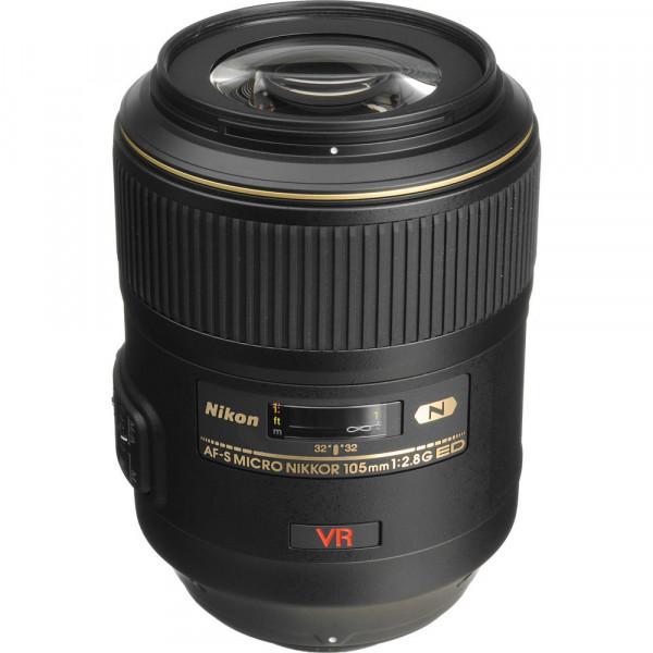 Lente Nikon FX 105mm f/2.8G IF-ED VR