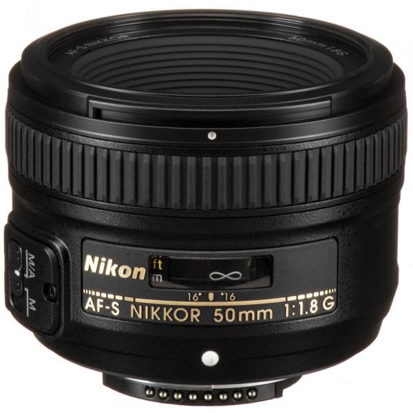 Lente Nikon FX 50mm f/1.8G