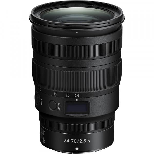 Lente Nikon Z 24-70mm f/2.8s