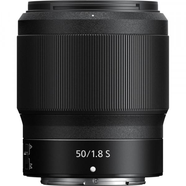 Lente Nikon Z 50mm f/1.8s