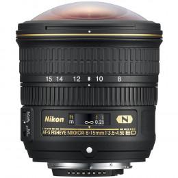 Lente Nikon AF-S FX Fisheye 8-15mm f/3.5-4.5E ED