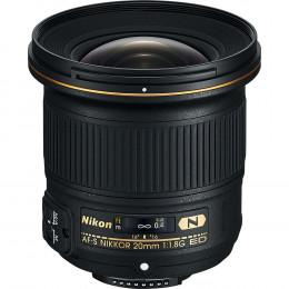 Lente Nikon FX 20mm f/1.8G ED