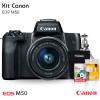 Canon M50 com Lente EF-M 15-45mm