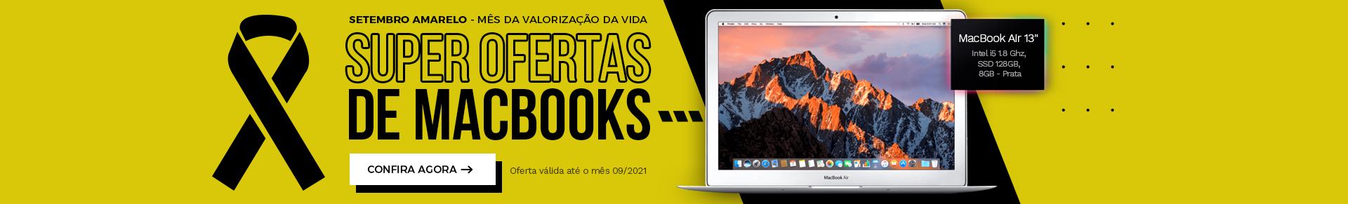 Setembro Amarelo 2021 - MacBook Air MQD32