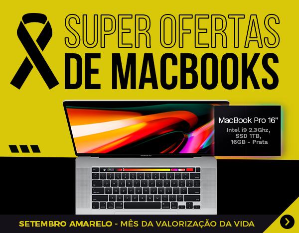 Setembro Amarelo 2021 - MacBook Pro 16 - MVVM2 - Prata