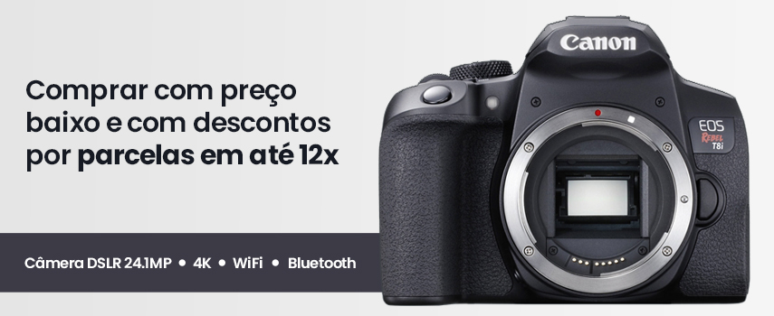 Banner CANON T8i